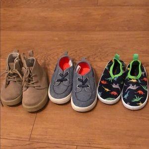 Gap & Carters size 6 shoes